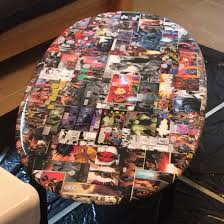 diy comic book desk. Upcycled Old Table Into New Comic Book Themed Coffee Diy Desk P