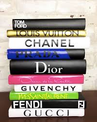 Designer Books Decor 100 BOOKS Color Designer Book Set Chanel Tom Ford Louis 58