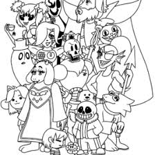 undertale coloring sheets undertale coloring pages print and color undertal on gambar undertale coloring sheets amino