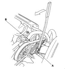 honda accord lx engine or hood for serpentine belt v6 diagram