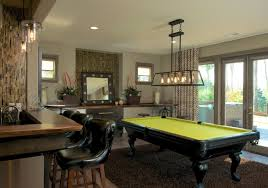 cool pool table lights to illuminate your game room sebring design build
