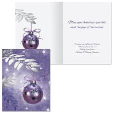 Symphony In Purple Note Card Size Christmas Cards Colorful Images
