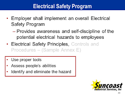 sample safety program company safety program safety program applying the 2012 nfpa 70e arc flash standard ppt video online