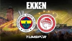 Fenerbahçe Olympiakos maçını veren yabancı kanallar! FB Avrupa Ligi maçı  şifresiz nasıl izlenir? - Tüm Spor Haber