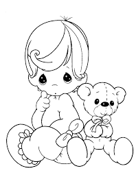 Small Picture Baby Girl Free Printable Coloring Page Coloring Coloring Pages