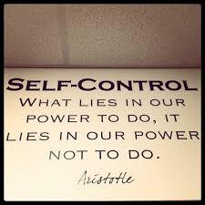 Self Control Quotes Mesmerizing Self Control Princessdeficit
