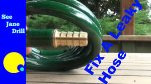 Perfect Garden Hose Repair How To A Coil On Design Decorating