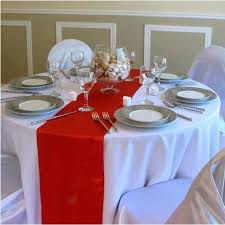 round table runner wedding party decorative rectangle solid satin table runners for hotel round table table round table runner