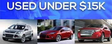 used vehicles under 15k