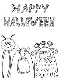 Today, kids love to enjoy this party asking for candy in their vicinity ! Free Printable Halloween Coloring Cards Cards Create And Print Free Printable Halloween Coloring Cards Cards At Home