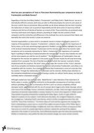 sample college frankenstein critical essay frankenstein critical essays cheapbestessayfast tech