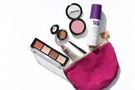 makeup bag beauty essentials
