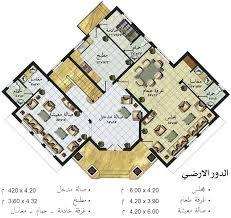 مخطط فيلا بيوت الغربية الخرائط مساحه الارض 450 متر مربع arab arch. خرائط منازل صور تصميمات منازل مساء الورد