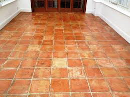 Terra Cotta Tile In Kitchen Floor Terra Cotta Tile Flooring Interior Design Ideas