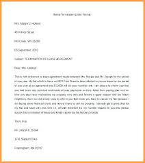 Sample Of Termination Letter To Employee | Nfcnbarroom.com