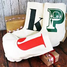 Christmas stockings with initial - Сhristmas day special