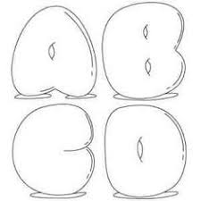 025b12c8d4b9636b52a4db d3 bubble letters bubble art