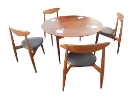 Baker Dining Room Table Vintage Used Dining Table Chair Sets Chairish Baker Walnut