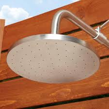 Outdoor Shower Stainless Steel Pull Chain Wall Mount Outdoor Shower Outdoor