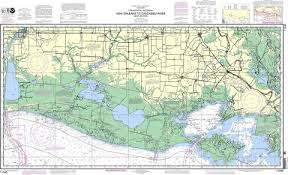 Noaa Nautical Chart 11345 Intracoastal Waterway New Orleans To Calcasieu River West Section