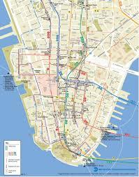 lower manhattan map  go nyc tourism guide