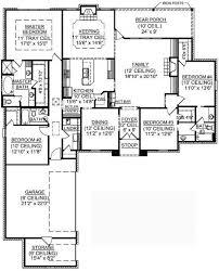 luxury one story open floor plans 6