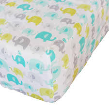 <b>Cotton Crib</b> Fitted Sheet <b>Soft Baby</b> Bed Mattress Cover Protector ...