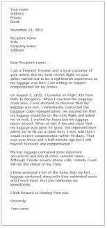 Letter Of Complaints Sample Complaint Letter Sample 3 Formal Letter Samples