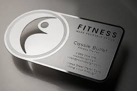 Free Personal Cards Free Innovative Stainless Steel Personal Trainer Business