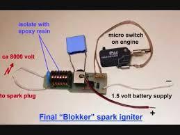 homemade miniature spark ignitor homemade miniature spark ignitor