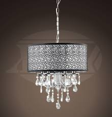 rebecca 4 light chrome crystal metal bubble shade chandelier 21 5 hx17