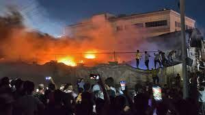 العراق: ارتفاع حصيلة ضحايا حريق مستشفى الناصرية إلى 92 قتيلا