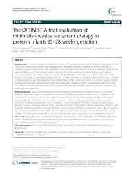 Dhhs Organisational Chart The Optimist A Trial Evaluation Of Minimally Invasive