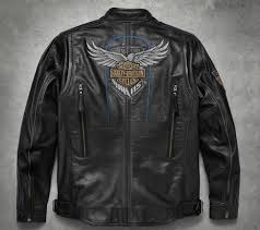 mens 115th anniversary leather jacket tall