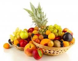 Resultado de imagen para canasta llena de frutas imagen