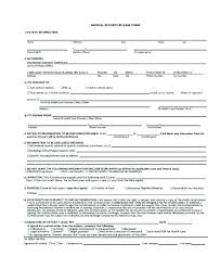 Medical Release Form For Child Cool Patient Release Form Template Health Record Medical In