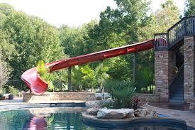 diy water slide into pool campbellandkellarteam