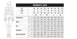 Ables Reference Size Chart For Beretta Clothing Inside