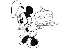Kleurplaat Minnie Mouse Afb 20740 Images