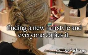 Finding A New Hairstyle finding a new hairstyle and everyone copies it just girly things 4076 by stevesalt.us