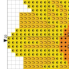 Sunflower And Seeds Cross Stitch Pattern