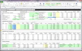Cash Flow Model Excel Rental Property Cash Flow Spreadsheet Excel Underwriting
