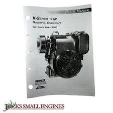 kohler tp691b k321 parts manual jacks small engines tp691b k321 parts manual