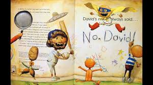 animated effects no david by david shannon books for kids children read aloud