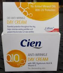 Cien q10 day cream review