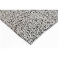 pebble wool rug light grey light grey