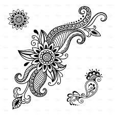 Henna Tattoo Flower Templatemehndi точкиточечьки мехенди