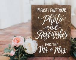 photo guest book sign rustic wedding signs photo best wishes guest book sign wooden wedding sign 15x11