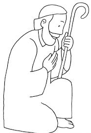 Coloring Picture Of St Joseph Saint