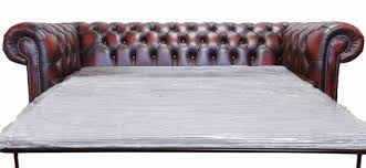 chesterfield sofa bed. Exellent Chesterfield New Chesterfield 3 Seater Sofa Bed Antique Oxblood Red Leather Settee Intended S